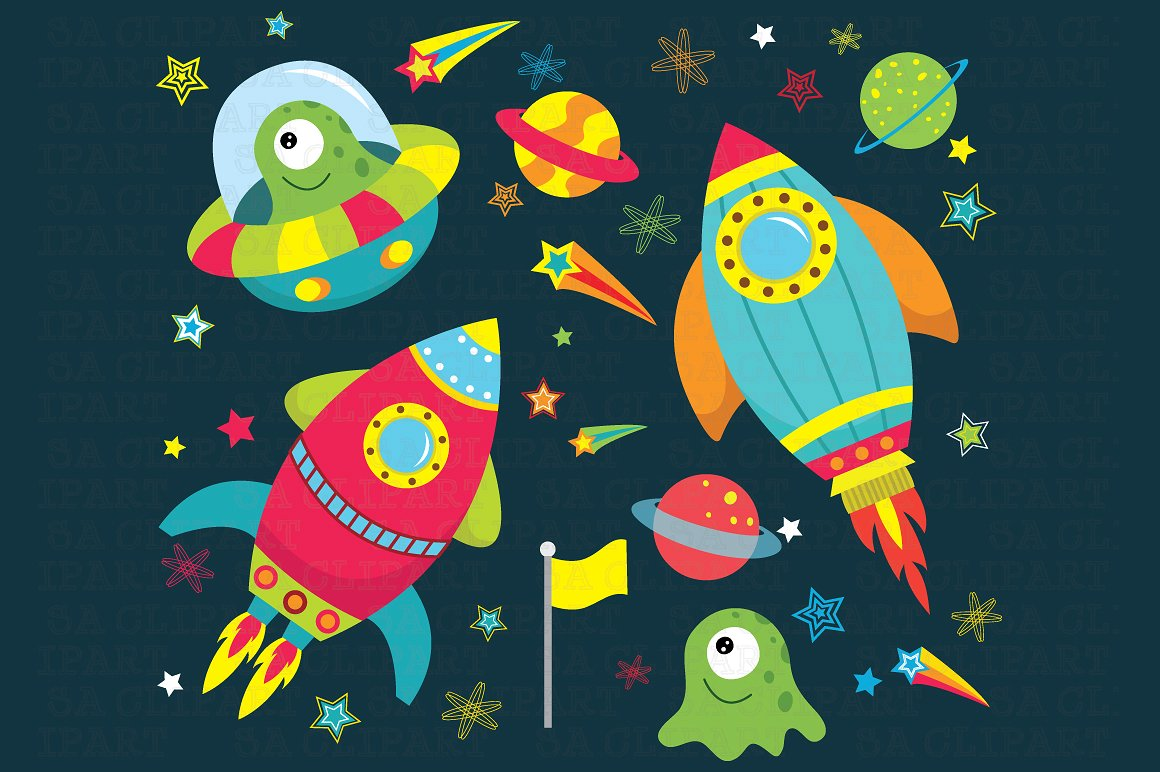 Space Clipart-Clipartlook.com-1160
