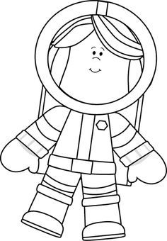 space clipart black and white - Google Search