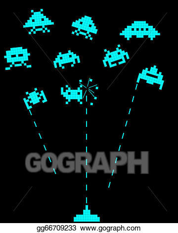 Battle With Space Invaders-battle with space invaders-1