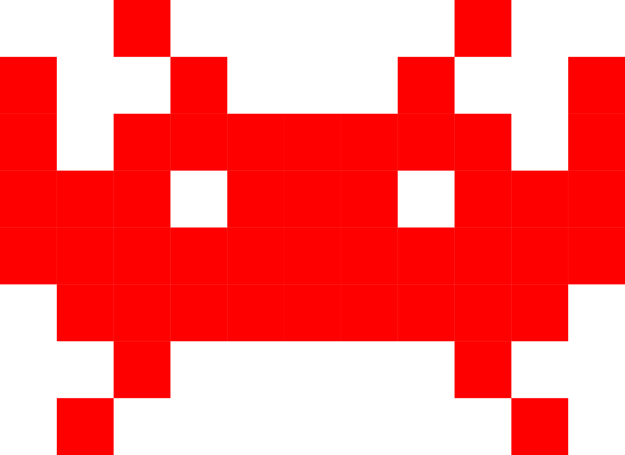 Space Invaders PNG File
