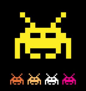 Space Invader Clip Art