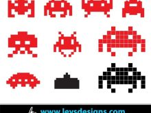 . ClipartLook.com Space Invaders Clipart-. ClipartLook.com Space Invaders Clipart space invader icons free vector in adobe  illustrator ai ai dog face clipart ClipartLook.com -11