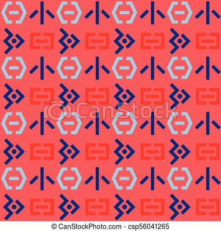 Space invaders seamless pattern - csp56041265