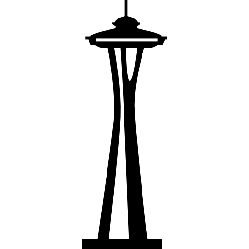 ... Space needle clipart ...