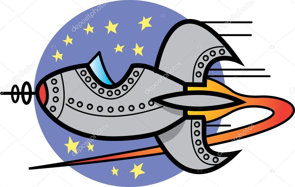 Space Ship Clip Art U2014 Stock Vector #-Space ship clip art u2014 Stock Vector #17457041-6