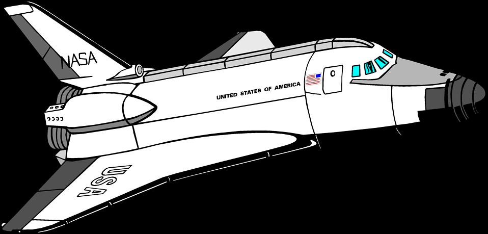 Space Shuttle Clip Art Free