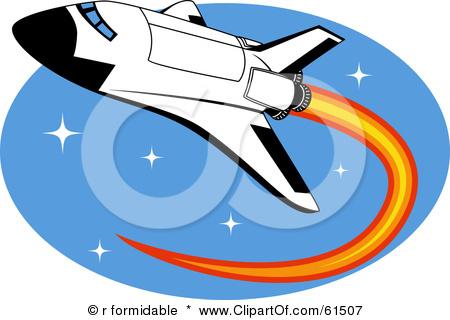 Space Shuttle Clip Art