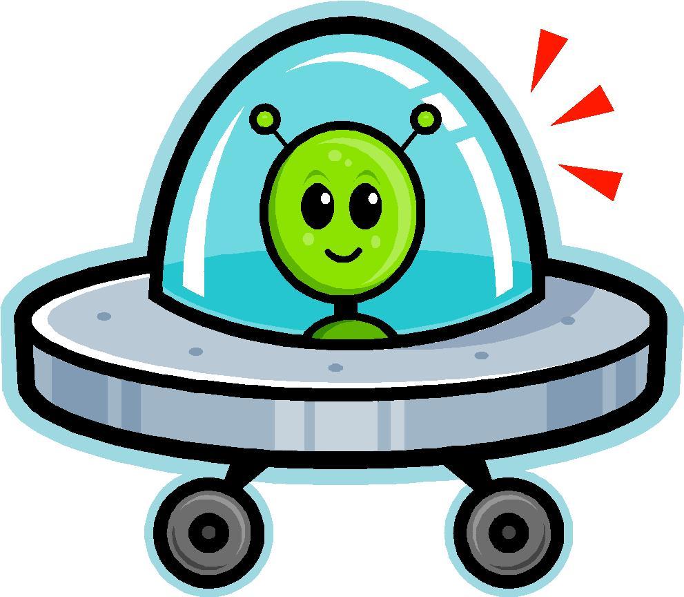 Spaceship Cartoon - Clipart .-Spaceship Cartoon - Clipart .-13