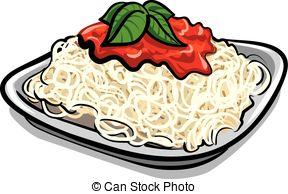 spaghetti pasta Clipartby ...