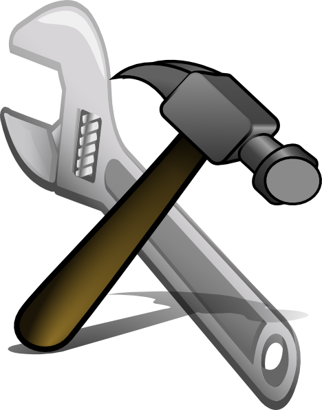 Crossed Hammer And Spanner Clip Art At C-Crossed Hammer And Spanner Clip Art at Clker clipartlook.com - vector clip art online,  royalty free u0026 public domain-4