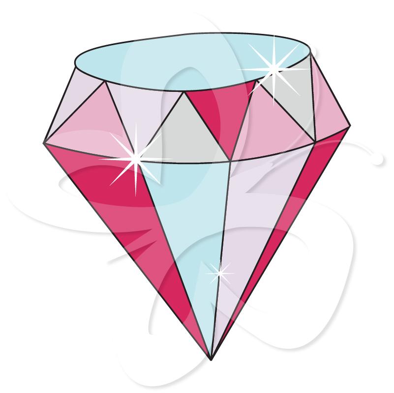 Sparkling Diamond Clipart - Clipart Kid-Sparkling Diamond Clipart - Clipart Kid-18