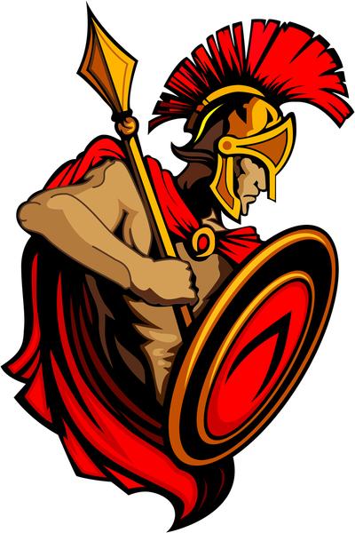Spartan Trojan Vector Clip Arts Free Clipart Clipartlogo Com