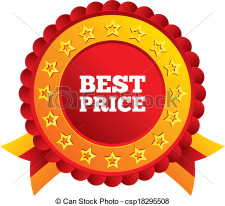 Best price sign icon. Special offer symbol. - csp18295508