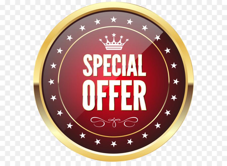Gold Badge Clip art - Special Offer Badg-Gold Badge Clip art - Special Offer Badge Transparent PNG Clip Art Image-12
