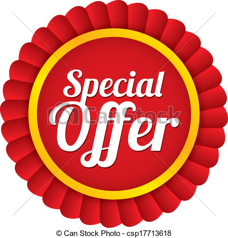 Special offer label. Red sale sticker. P-Special offer label. Red sale sticker. Price tag. - csp17713618-9
