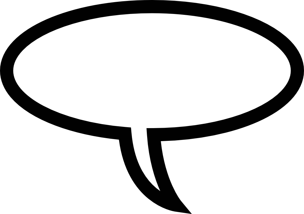 Speech bubble clipart clipartall