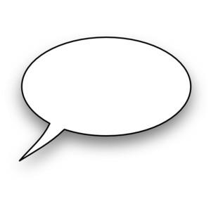 Speech bubbles thought bubble speech clip art at clker vector