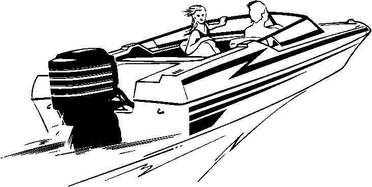 Speed Boat Clip Art Free .