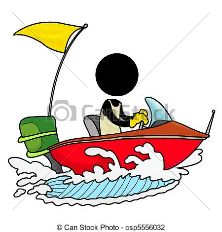 ... speedboat driver - Silhouette-man on transportation icon -... speedboat  driver Clip Artby ...