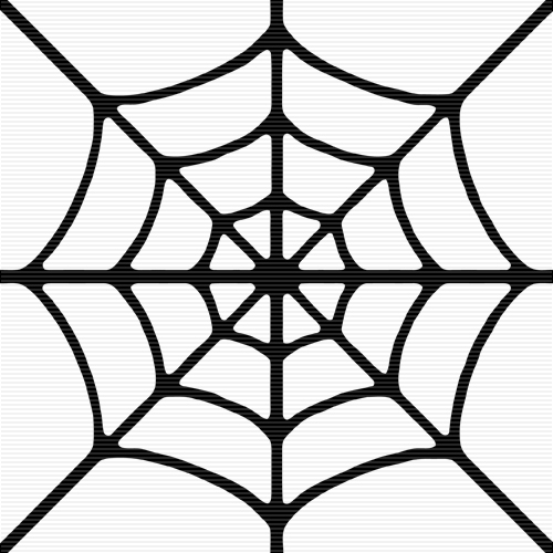 spider web border clipart