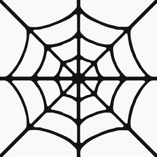 Spider Web Border Clipart-spider web border clipart-2