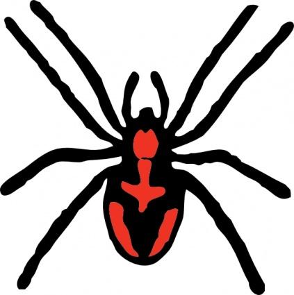 Spider clip art vector graphic