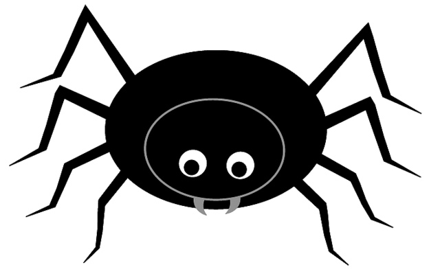 Spider Clip Art With Transparent Background | Clipart library - Free