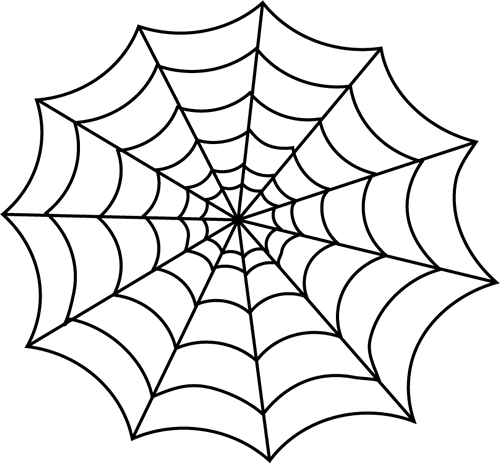 Spider Clipart - Spider Web Clipart