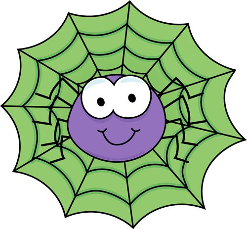 Spider In A Green Spider Web Clip Art Im-Spider in a Green Spider Web clip art image. A free Spider in a Green Spider Web clip art image for teachers, classroom lessons, educators, school, print, ...-17