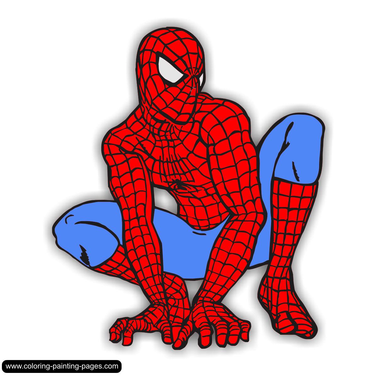 Spider Man Clip Art - clipartall .