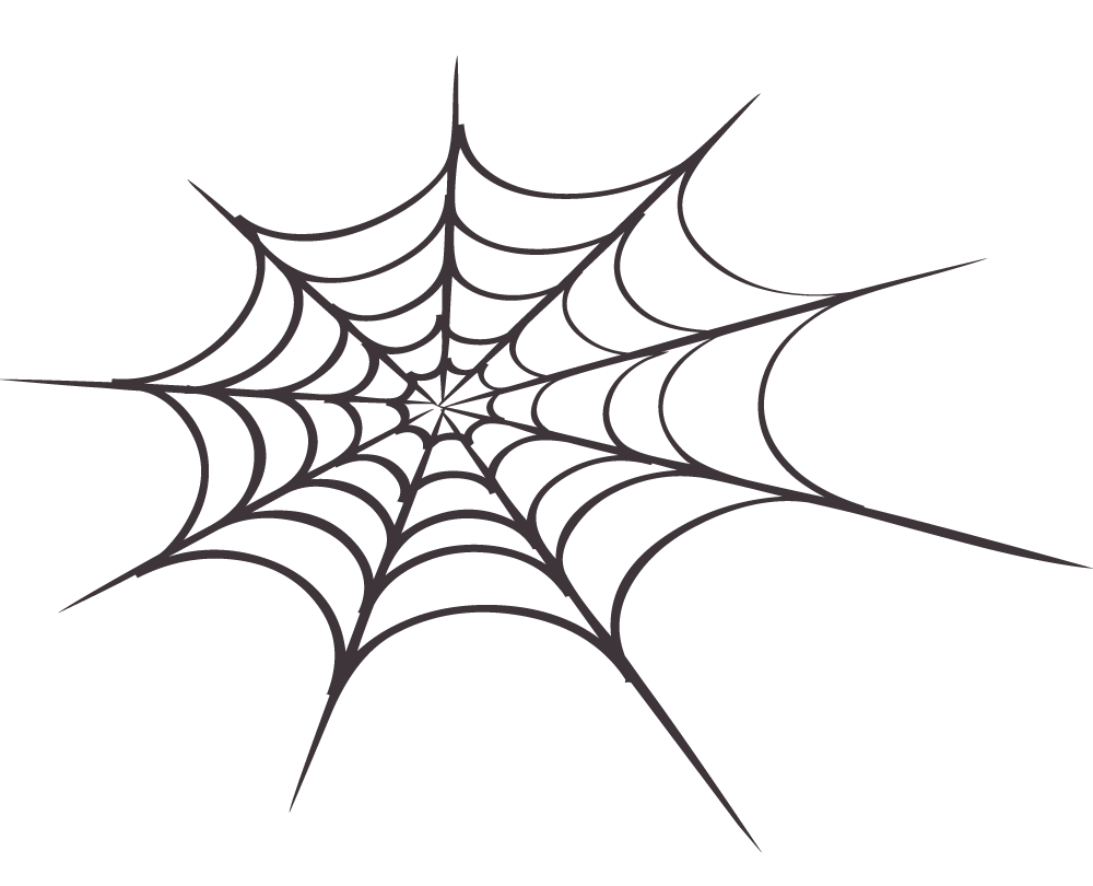 Spider web clipart 9 2