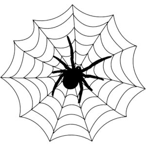 Spider Web Cliparts-Spider web cliparts-4