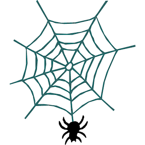Spider web web clip art clipart