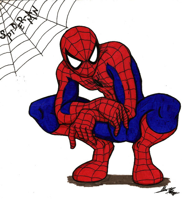 Spiderman Clip Art-Spiderman Clip Art-11