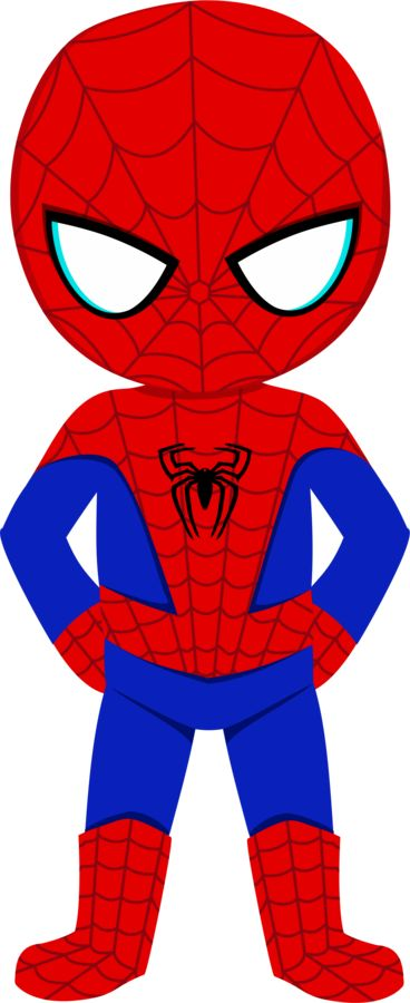 Spiderman clipart kid - ClipartFest