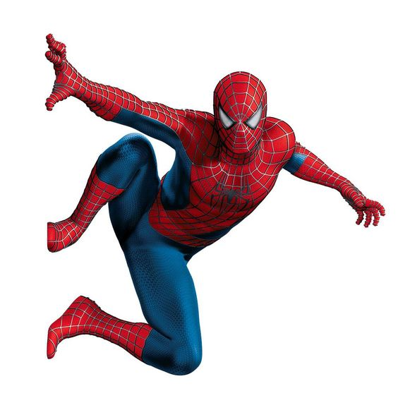 Spiderman thank and clip art on