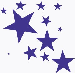 splash-of-stars - Star Images Free Clip Art