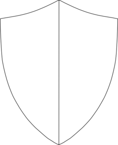 Split Coat Of Arms Clip Art
