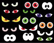 Spooky Eyes Clip Art u2013 Clipart Free Download
