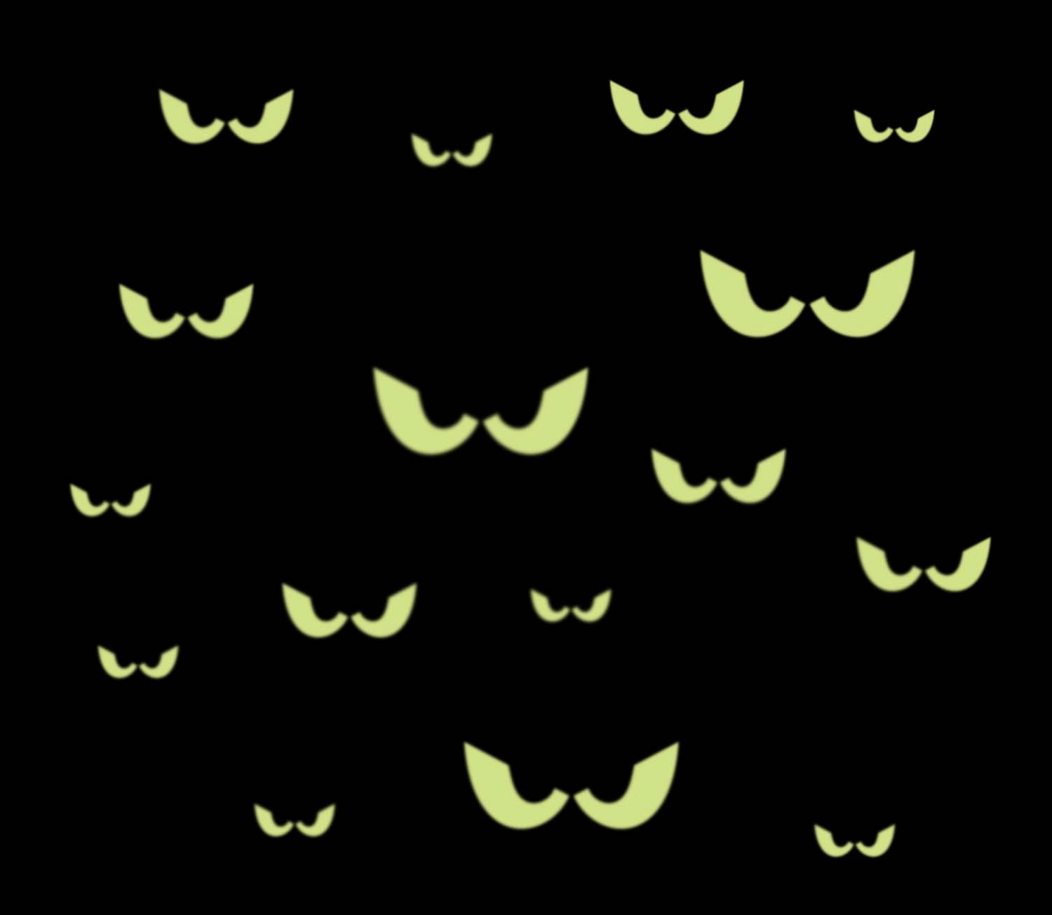 Spooky eyes clipart blavk and white - ClipartFest