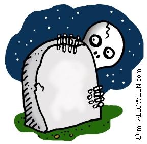 Spooky Graveyard Clip Art - copyright © imHALLOWEEN clipartall.com