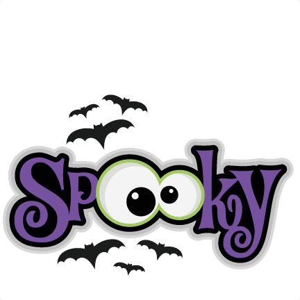 Spooky Halloween Clipart. Halloween