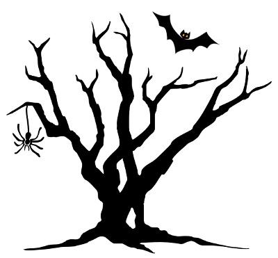 Spooky Halloween Tree Clipart Halloween Tree Clipart