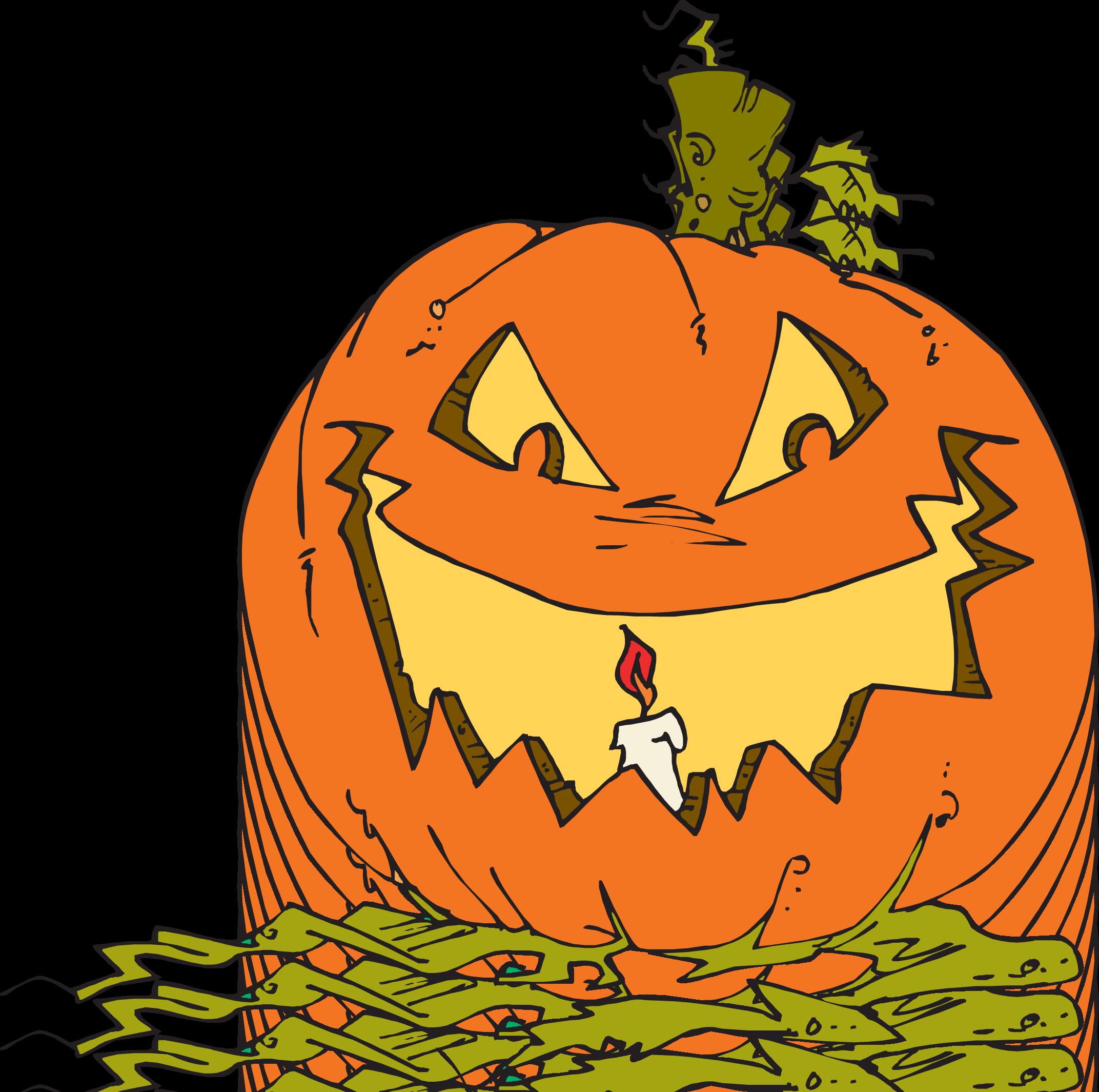 Spooky Jack Ou0026#39;; Clipart ...