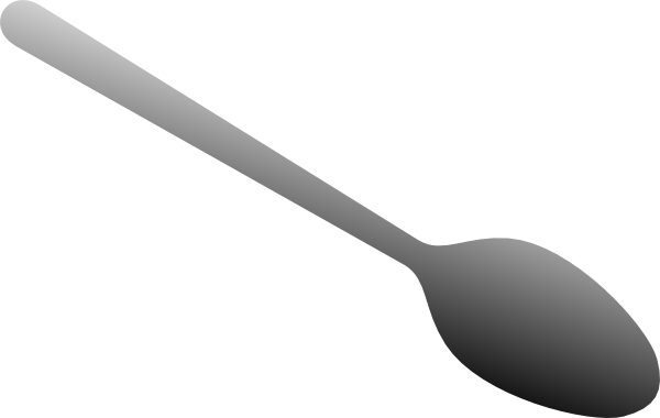 Spoon Clip Art At Clker Com V - Spoon Clip Art
