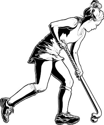 Sports Athletics Field Hockey Clip Art