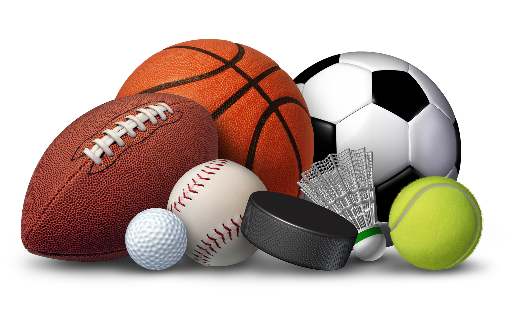 Sports Balls Clipart Borders