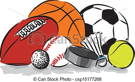... sports balls illustration