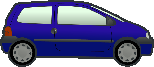 Sports car clipart side view .