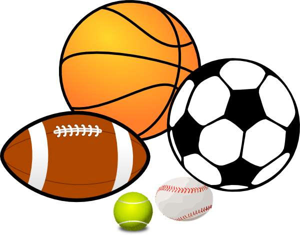 Sports clip art pictures free .